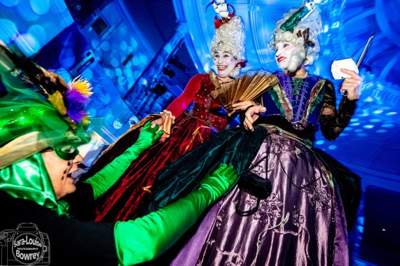 These guys really know how to party – this is the Hastings Fat Tuesday take on a Mardi Gras Ball