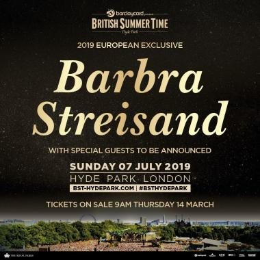 Barclaycard British Summertime news: We have our next headliner and SHE. IS. AN. ICON!…