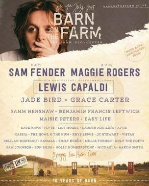 Barn on the Farm news:  In answer to some of your questions, the one and only Lewis Capaldi will be joi…