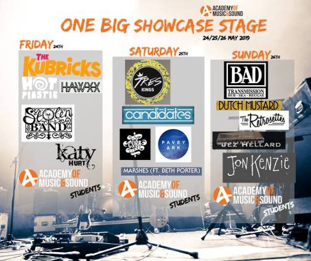 Bearded Theory news: The One Big Showcase is delighted to announce the unsigned acts who have been ch…