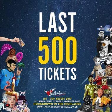 Belladrum Tartan Heart Festival  news: Only 500 Tickets Left!!…