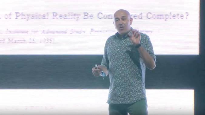 Bluedot Festival news:  Jim Al-Khalili: Does Life Need Quantum Mechanical?