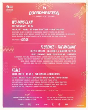 Boardmasters Festival news: 5 days of sun, sounds and soul….