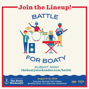 Boaty Weekender news: LAST CALL! Don't miss your chance to play on the lineup, submit today!