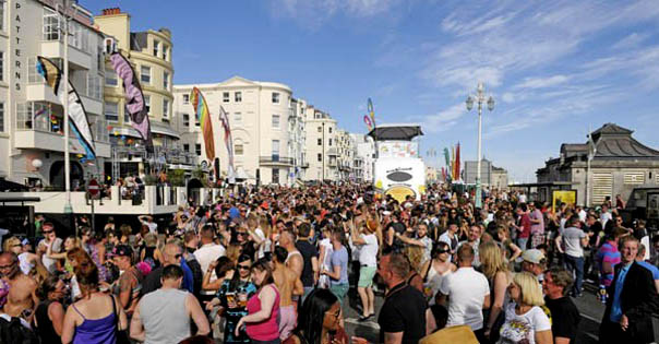 Brighton Pride news: Pride Village Party gets thumbs up from city councillors till 2020 | Gscene Gay Magazine – What's on in Gay / LGBT Brighton