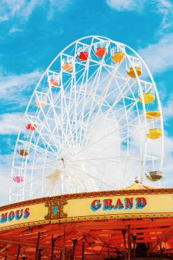 By the Sea news: Dreaming of the days until the big wheel turns again? The countdown is on… 2 wee…