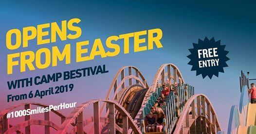 By the Sea news: Easter at Dreamland with Camp Bestival!