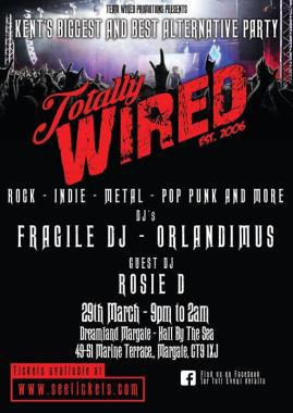 By the Sea news: Only two weeks to go until Totally Wired Margate arrives at our Hall By the Sea!…