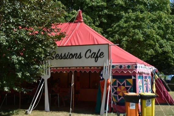 Cambridge Folk Festival news: Can't wait to be listening to a few sessions and munching on some lovely grub fr…