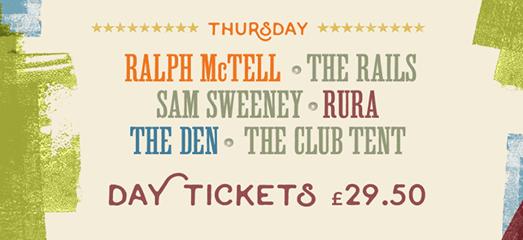 Cambridge Folk Festival news: Experience #CamFolkFest for just £29.50. See Ralph McTell, Sam Sweeney, The Rail…