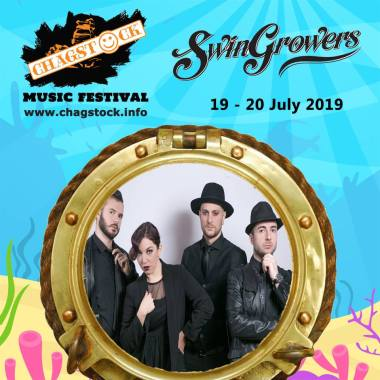Chagstock news : Another great addition to the Line Up, SWINGROWERS  are an accomplished four-pie…