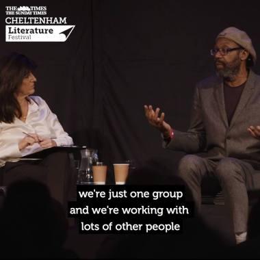 Cheltenham Festivals news :  Lenny Henry on Comic Relief / #cheltlitfest 2018