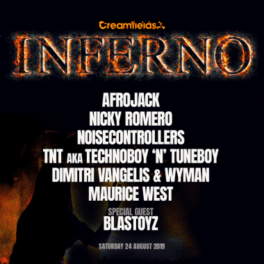 Creamfields news : Just announced! New to #Creamfields2019 we give you INFERNO with Afrojack, Nicky…