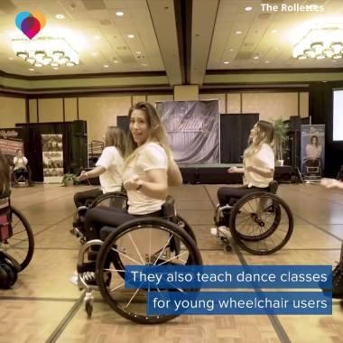 Dance Umbrella news:  Dancers in wheelchairs inspire young girls