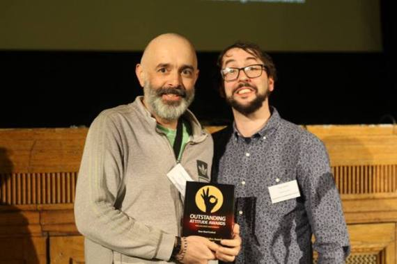 Deer Shed news : Here's our Oliver, Deer Shed director, accepting the Access Starts Online award,…