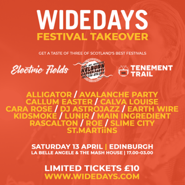 Electric Fields news : We're really excited to have been asked to select 4 artists for the all-new W…