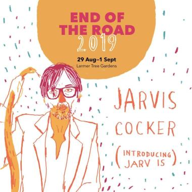 End of the Road Festival news: It's a real honour to be welcoming our old friend Jarvis Cocker to Larmer Tree G