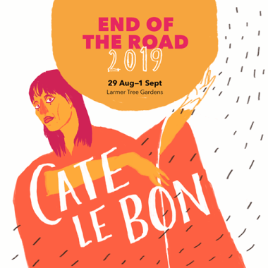 End of the Road Festival news: We're very pleased to have Cate Le Bon bringing her astonishing upcoming record