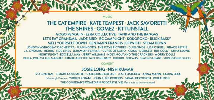 LARMER TREE FESTIVAL ANNOUNCE DETAILS OF THIS SUMMER'S COMEDY LINE-UP