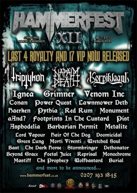 Hammerfest news : Final 4 Royalty & 17 VIP Now Up For Grabs As 37 Metal Marauders Are Unleashed By…