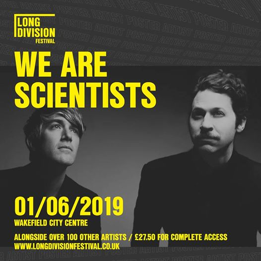 Epic times ahead with the wonderful We Are Scientists joining us on June 1st in ...