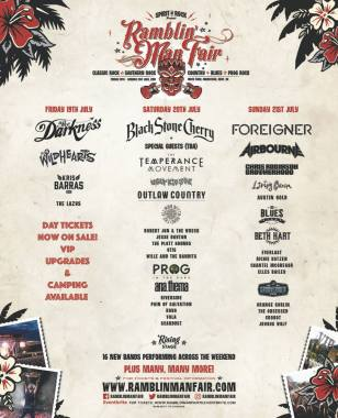 Ramblin' Man news : After today's announcement #RMFair2019 is starting to look a little bit lik…