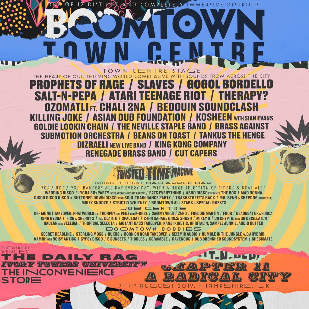 Boomtown Town Centre