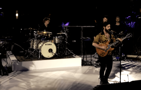 NME Festival blog: Watch the first live video broadcast of Foals performing 'Exits'