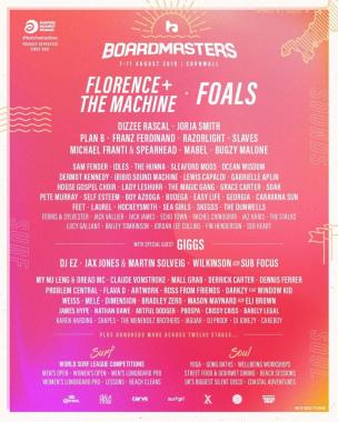 REDDIT FESTIVAL NEWS Boardmasters second wave just announced