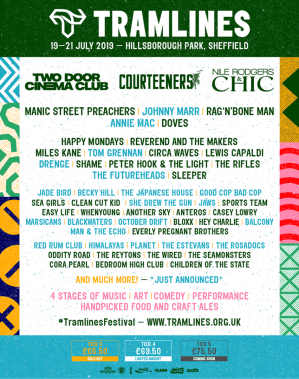 Tramlines Festival Adds Over 15 Acts To 2019 Line Up