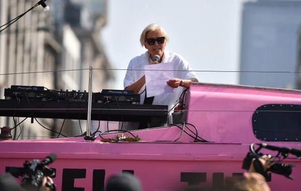 NME Festival blog: Emma Thompson speaks out at Extinction Rebellion protests