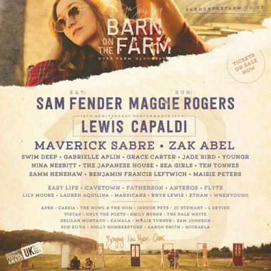 Barn on the Farm news:  In case you missed it, we added some amazing names to our 2019 lineup this morn…