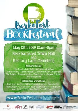 BerkoFest news: A brand new Book Festival is coming to Berkhamsted – and it's set to be a smash!…