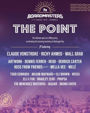 Boardmasters Festival news: The ultimate cliff-top party feat. Claude VonStroke Richy Ahmed Mall Grab / Jord…