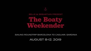 Boaty Weekender news: Stuart from Belle and Sebastian sat with Stina from Honeyblood, Stuart from Mogw…