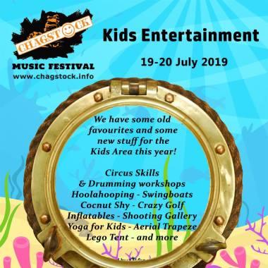 Chagstock news : News about the Kids Area at Chagstock 2019!