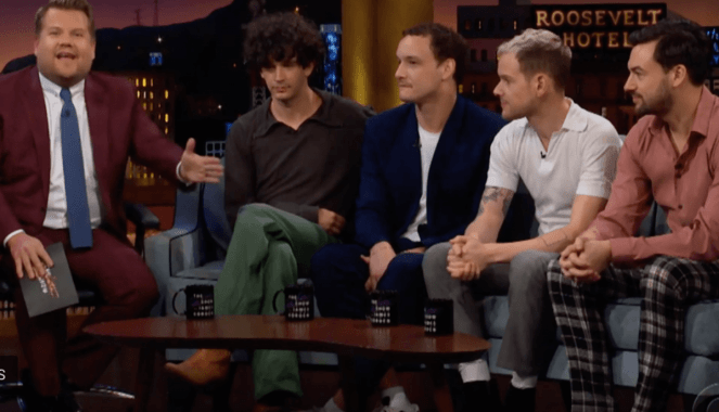 NME Festival blog: Watch The 1975 talk about their new album and touring on 'The Late Late Show with James Corden'