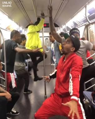 Dance Umbrella news:  Guys Dancing On Underground