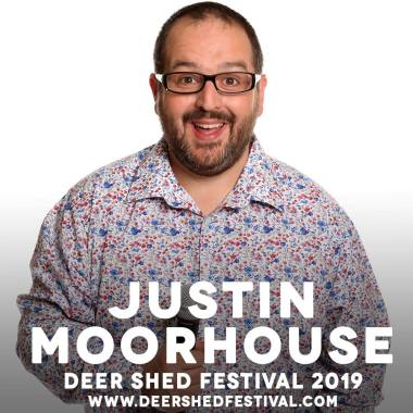 Deer Shed news : Justin Moorhouse, our favourite northern funny man and one of the best MCs we&#0…