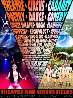 Glastonbury Festival news: Our incredible Theatre and Circus area is back for #Glastonbury2019 with 400 act…