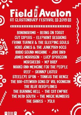 Glastonbury Festival news: The Field Of Avalon – Glastonbury line-up for #Glastonbury2019 is here!