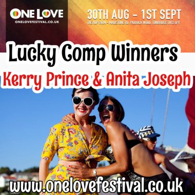 One Love Festival news: Comp winners are – One Love Festival 2019