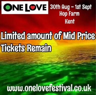 One Love Festival news: Congratulations @CarleyMurray @SaraGood who have won x 2 weekend tickets to One …