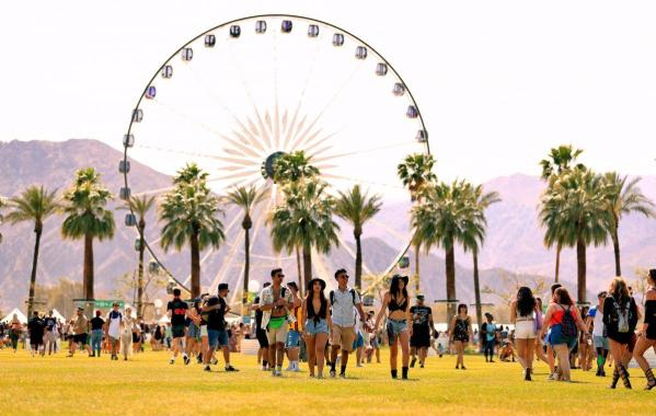 NME Festival blog: A Coachella stagehand has died setting up this year's festival