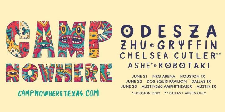 REDDIT FESTIVAL NEWS Camp Nowhere 2019 (Houston, Dallas, Austin)