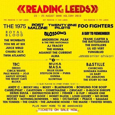 REDDIT FESTIVAL NEWS 50 Names added tp Reading & Leeds