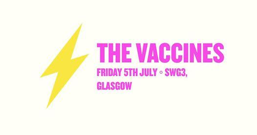 Electric Fields news : EF ◦ The Vaccines ◦ Glasgow