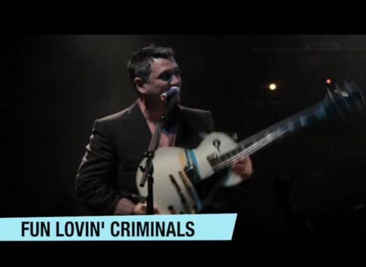 Chagstock news :  Chagstock Preview Fun Lovin' Criminals