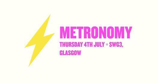 Electric Fields news : EF ◦ Metronomy ◦ Glasgow