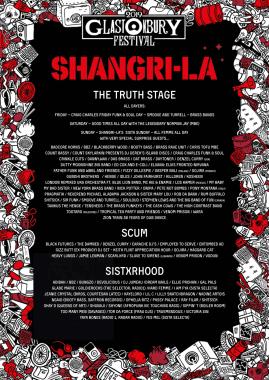 Glastonbury Festival news: The Shangri-La #Glastonbury2019 line-up is here!!